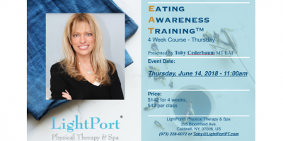 Eating Awarness Training™ Weekly Course, Caldwell, New Jersey