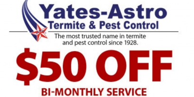 $50 OFF BI-MONTHLY PEST CONTROL SERVICES, Savannah, Georgia