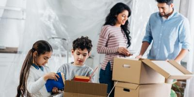 3 Tips for Moving With Kids, Denton, Texas