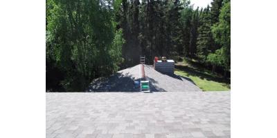 Beautiful Shingled Alaskan Roof! Call Definitive Construction , Anchorage, Alaska