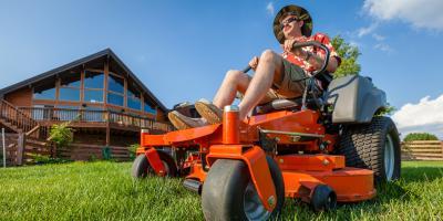 Should You Choose a Walk-Behind or Riding Mower? , Harris, North Carolina