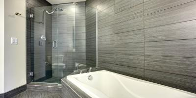 Top 3 Reasons to Choose Shower Glass Doors Over Curtains , Greece, New York
