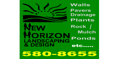 Socialize with us at New Horizon Landscaping for savings, Grant, Nebraska