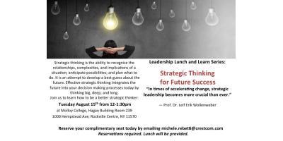 FREE workshop: Strategic Thinking, Huntington, New York