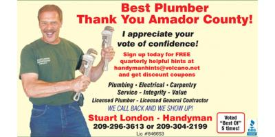 Top 5 Signs You Need to Call a Plumber, Pine Grove, California