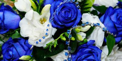 "3 Ways to Incorporate ""Something Blue"" in Wedding Jewelry, St. Charles, Missouri"