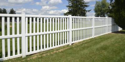 5 Advantages of a Vinyl Fence, Spencerport, New York