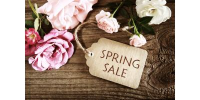 SPRING IN TO SAVE SALE, Lincoln, Nebraska