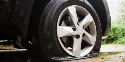 3 Common Causes of Flat Tires, Lemay, Missouri