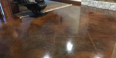 How Do Pros Install Stained Concrete?, Columbia, Illinois