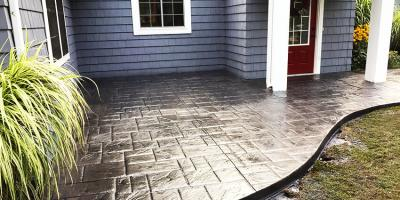Stamped Concrete Patios: A Better Backyard Upgrade, Gates, New York
