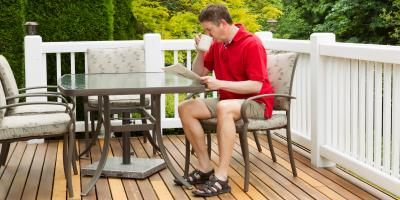 3 Types of Materials for Building a Deck, Stayton, Oregon
