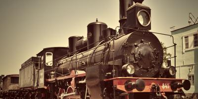 The History of the Steam Train, Elkins, West Virginia
