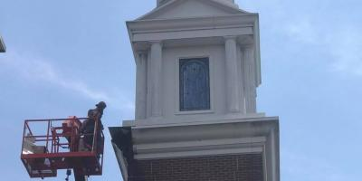 Church Roof & Steeple Cleaning: An Inside Look, High Point, North Carolina