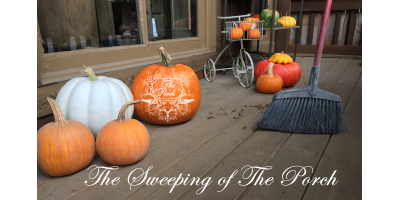 Stop By This Weekend During The Sweeping of The Porch! Shop Merchandise Specials & Join The Fun!, Wildwood, Missouri