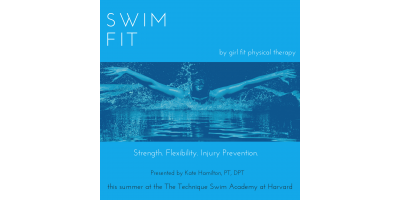 Swim Fit, designed to help young swimmers, Boston, Massachusetts