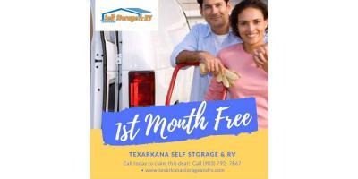 1st Month FREE, Texarkana, Texas