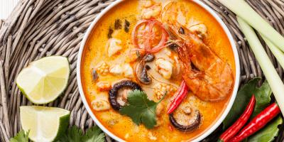 Try This Delicious Thai Tom Yum Soup Recipe From Hawaii's Best Thai Food Restaurant , Kahului, Hawaii