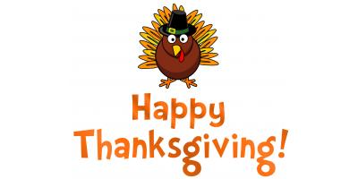 Happy Thanksgiving!, Centerville, Ohio