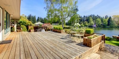 Why Spring Is the Best Season for Deck Building, De Motte, Indiana
