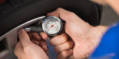 3 Causes & Solutions for Low Tire Pressure, Paterson, New Jersey