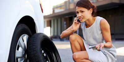 3 Top Causes of a Flat Tire, Oakdale, Wisconsin