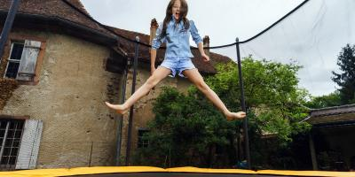 How Using a Trampoline Leads to Better Fitness, Lexington-Fayette Central, Kentucky