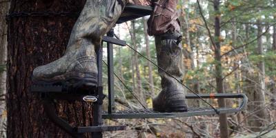3 Benefits of Using a Treestand Powerstep™, Garfield, Michigan