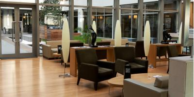 With A Steady Flow Of Employees, Clients, And Visitors Coming And Going  From Business Interiors, Furniture In Cubicles, Lobbies, And Additional  Commercial ...