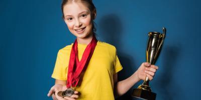 How Trophies Help Build Kids' Confidence, Dalton, Georgia