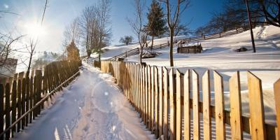 5 Ways to Protect Your Wood Fence This Winter, Claremore, Oklahoma