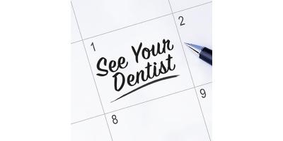 Remember to keep those biannual dental exams, Maryland Heights, Missouri