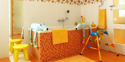 3 Non-Slip Flooring Options for the Bathroom , Green, Ohio