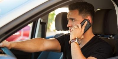 Traffic Ticket Lawyer Advises About Distracted Driving, Wadesboro, North Carolina