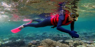 How to Staying Warm While Snorkeling in Kauai's Waters, Kekaha-Waimea, Hawaii