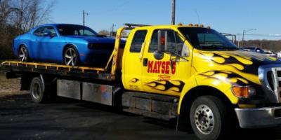 3 Steps to Tow a Car From Your Business, Wapakoneta, Ohio