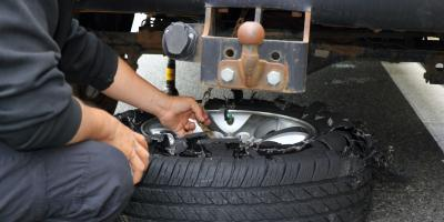 How to Control a Vehicle When a Tire Blows, Washington, Missouri