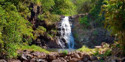 3 Safety Tips for Swimming at a Waterfall, Koolauloa, Hawaii