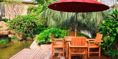 3 Hot Trends in Outdoor Patio Furniture for Shade, German, Ohio