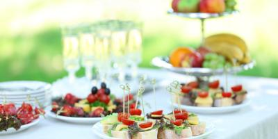 A Guide to Setting Up Food at Outdoor Wedding Venues, Richmond, Kentucky