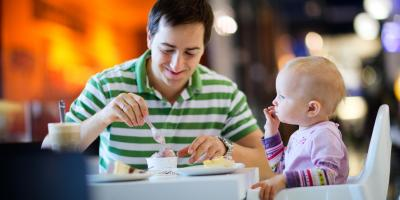 3 Tips for Keeping a Baby Calm in a Restaurant, Brooklyn, New York