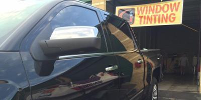 How Do the Black Lines & Dots On Car Windows Affect Tinting?, Ewa, Hawaii