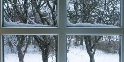 Get That Broken Window Repaired or New Frame Made Before the Winter Weather, Irondequoit, New York