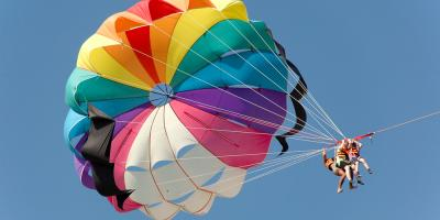 What to Expect When You're Parasailing, Port Aransas, Texas