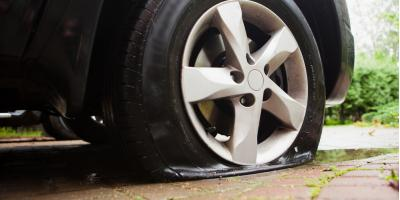 Why You Should Never Drive With a Flat Tire, Heflin, Alabama