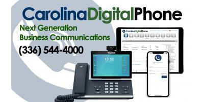Carolina Digital Phone is Growing!, Greensboro, North Carolina