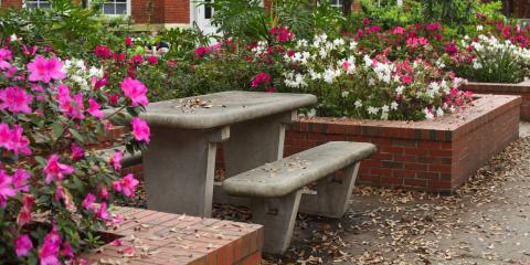 Why Homeowners Should Consider Concrete Furniture, Milford, Connecticut