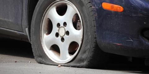 3 Possible Causes of a Flat Tire, Burney, California