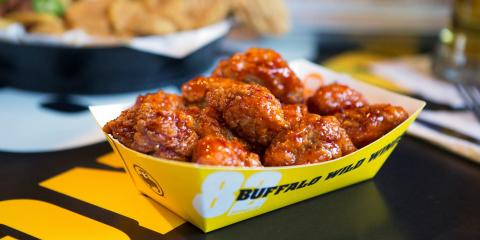 3 Delicious Gluten-Free Menu Options at Buffalo Wild Wings, New Haven, Connecticut