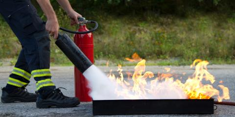 How to Extinguish Small Fires Safely, Richmond Hill, Georgia